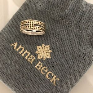Anna Beck Double Bar Ring